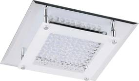 Rábalux 2444 Plafoniere cristal Sharon crom metal LED 12W 1080lm 4000K IP20 A+