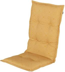 Pernă pentru scaun de grădină Hartman Bibi, 123 x 50 cm, galben muștar