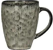 Cana din Ceramica Nordic Sea - Ceramica Gri Inchis Diametru(8 cm) x Inaltime(10 cm)