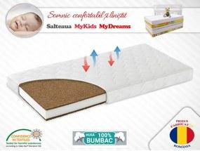 MyKids - Saltea fibra cocos MyDreams II 160x70x12 cm