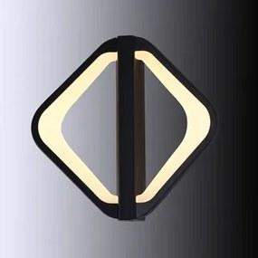 Aplica LED 16W negru Spyros Kelektron 20 5 06 016 30 337