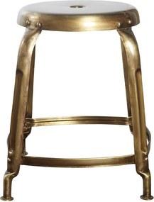 Taburet din Fier Auriu DEFINE - Fier Auriu dia. 36cm x inaltime 45cm