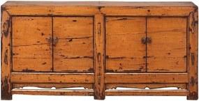 Comoda portocalie din pin 194 cm Sideboard Versmissen