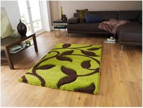 Covor Think Rugs Fashion, 120 x 170 cm, verde - maro