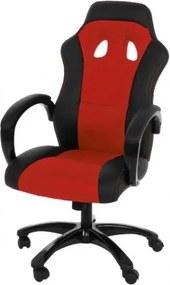 Scaun de birou directorial Race Red/Black