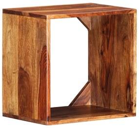 286402 vidaXL Masă laterală, 40x30x40 cm, lemn masiv de sheesham