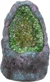 Statueta cu led Pestera cu Cristale de Smarald 10 cm