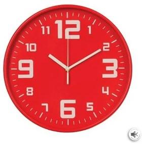 Ceas perete Atmosphera Red, 30x5 cm