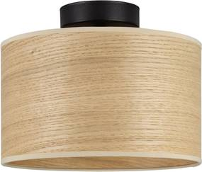 Plafonieră cu abajur din lemn de stejar Sotto Luce TSURI S