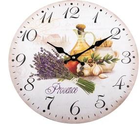Ceas de perete Provence stil, 34 cm
