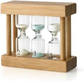 Cronometru tip clepsidră pentru ceai Bredemeijer, bambus