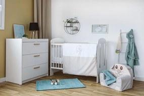 Set de pat pentru bebelusi Dream 6 piese bumbac