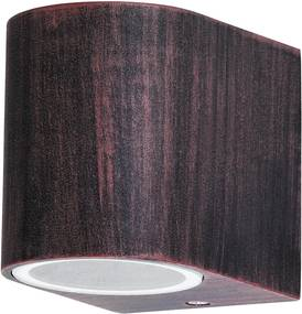 Rábalux Chile 8018 Aplice pentru iluminat exterior marou antic GU10 1X MAX 35W 65 x 80 mm