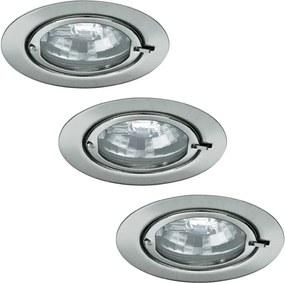 Paulmann - Nice Price 3361 - SET 3x Corp de iluminat tavan fals BASIC 3xG4/20W/230V/12V