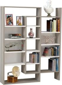 Bibliotecă Belinda, alb