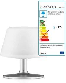 Eva Solo – SunLight garden lampa de masa, mini Alb translucid