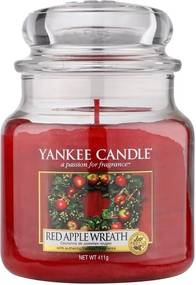 Yankee Candle lumanare parfumata Red Apple Wreath Classic mijlocie