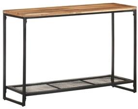 320249 vidaXL Masă consolă, 110 x 35 x 75 cm, lemn masiv de acacia
