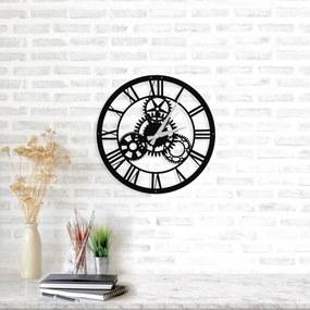 Ceas de perete Davin Clock, ⌀ 48 cm, negru