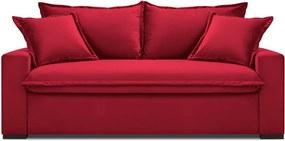 Canapea extensibilă Kooko Home Mezzo, roșu