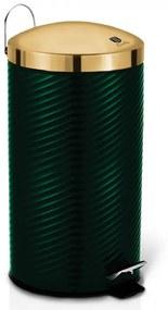 Cos de gunoi cu pedala din otel inoxidabil 20L Emerald Line Collection Berlinger Haus BH 6441