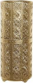 Suport umbrele Gold din metal auriu 22x45 cm