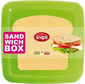 Cutie pentru sandwich Snips Sandwich, verde