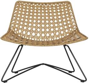 Fotoliu pentru exterior Weave Easy Chair Natural | WOOOD
