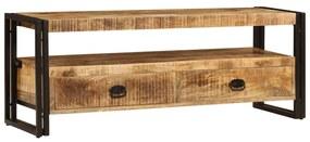 247402 vidaXL Comodă TV, 120 x 35 x 45 cm, lemn masiv de mango