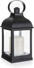 Felinar Home Decor. cu lumânare LED, 10 x 10 x 22 cm