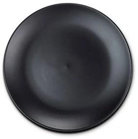 Farfurie desert stoneware negru SOHO NAVA NV 141 051