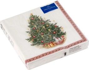 Set servetele hartie Villeroy & Boch Winter Specials C-Napkin Fir Tree 25x25cm