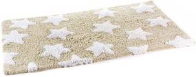 Covoras baie textil maro alb Stars Brown 58 cm x 39 cm
