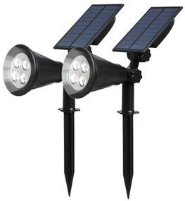2 buc lampi solare, iluminat de exterior decorativ