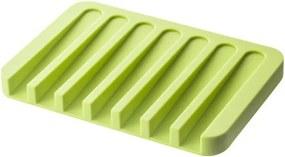 Suport pentru săpun YAMAZAKI Flow, verde
