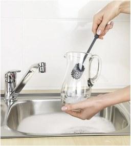 Perie pentru spălat vase, din silicon, Wenko Brush, 25 cm