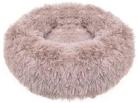 Culcus moale, pentru caine/pisica, cafeniu, 100 cm, Springos