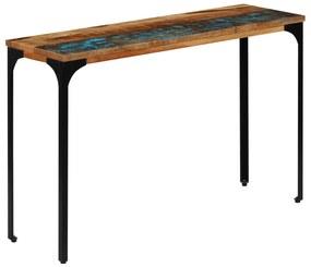 247323 vidaXL Masă consolă, 120 x 35 x 76 cm, lemn masiv reciclat