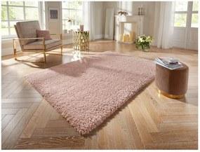 Covor Elle Decor Lovely Talence, 80 x 150 cm, roz deschis