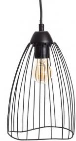 Lampa suspendata din metal Ceiling Lamp Black Metal Ø15cm | PRIMERA COLLECTION