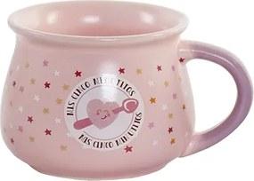 Cana Pink din ceramica 7 cm