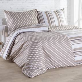 Lenjerie de pat din microfibră PALOMINO pat simplu