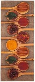 Covor de bucătărie foarte rezistent Floorita Spices, 60 x 220 cm