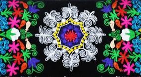 Sofa Suzani - Black Passion (3 Locuri)