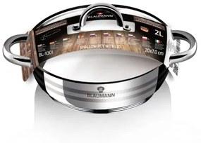 Cratita cu capac otel inoxidabil 20 cm Gourmet Line Blaumann BL 1001