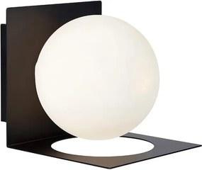Aplica neagra din metal 13,5x16,2x13,5 cm Zenit Markslojd