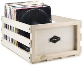 Auna NOSTALGIE BY RECORD BOX WD, cutie pentru discuri, lemn