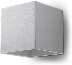 Aplică perete QUAD 1 1xG9/40W/230V gri