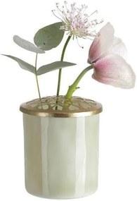Set Vaze Karine Heart (2 buc) - Sticla Transparent Inaltime(8.5 cm) x D(7.5 cm) Inaltime(10 cm) x D(7.5 cm)