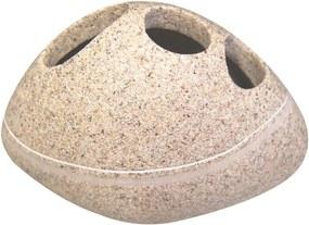 Suport periuțe dinți Stone - bej